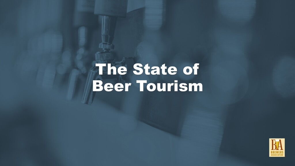 The State of Beer Tourism