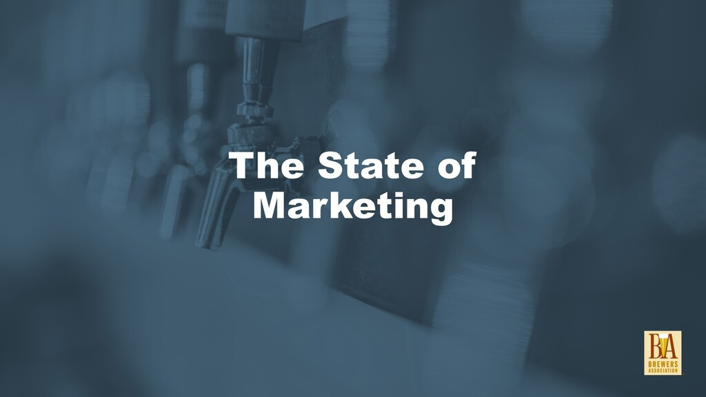 The State of Marketing