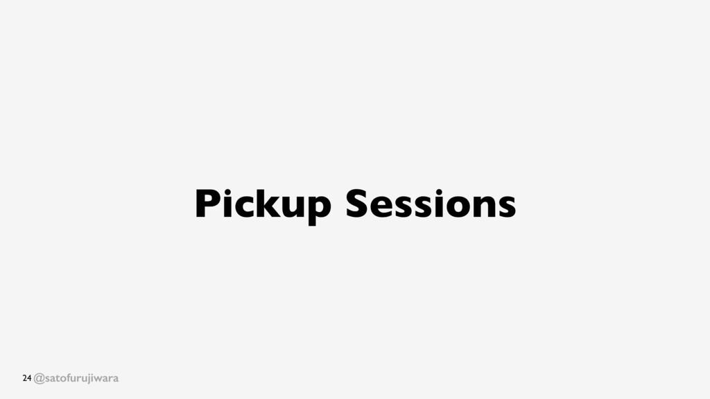 @satofurujiwara Pickup Sessions 24