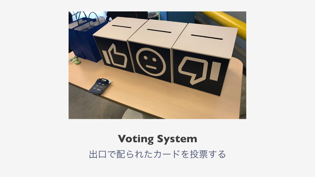 Voting System ग़ޱͰΒΕͨΧʔυΛථ͢Δ