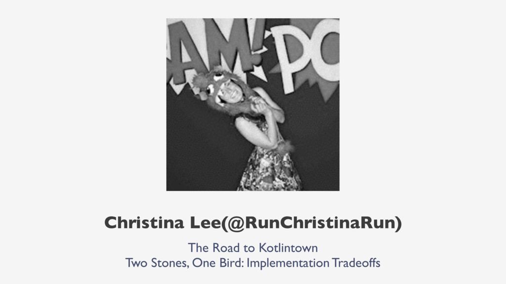 Christina Lee(@RunChristinaRun) The Road to Kot...