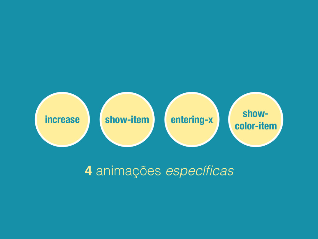 increase entering-x show-item show- color-item ...
