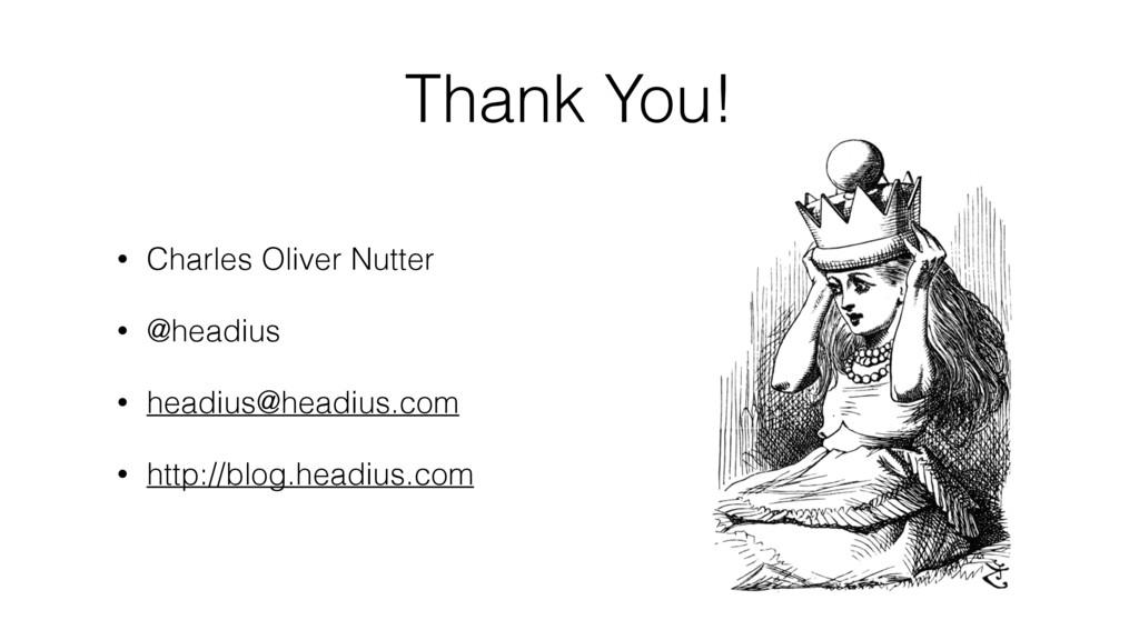 • Charles Oliver Nutter • @headius • headius@he...