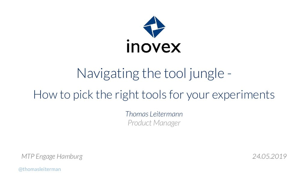 Navigating the tool jungle - How to pick the ri...