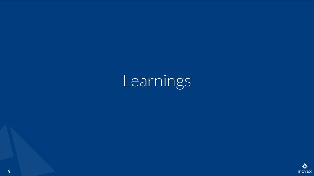 Learnings 9