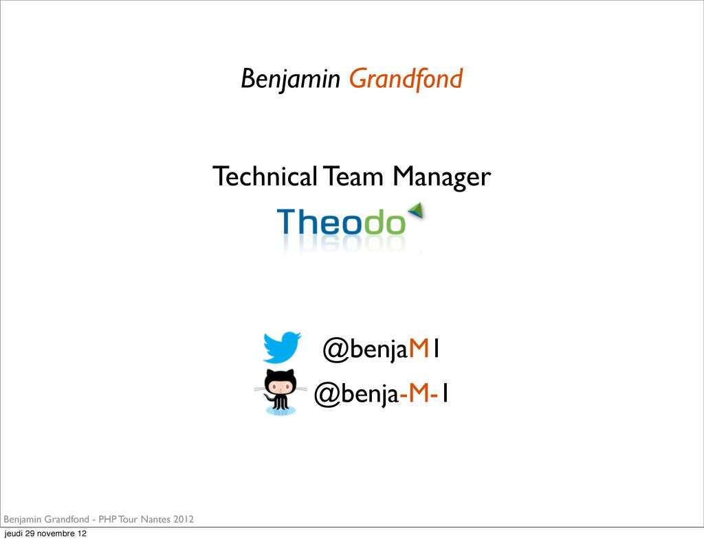 Benjamin Grandfond Benjamin Grandfond - PHP Tou...
