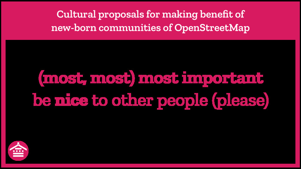 Cultural proposals for making benefit of new-bor...