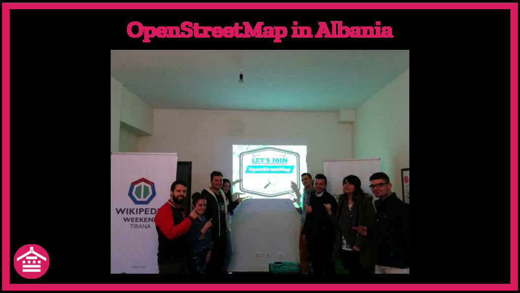 OpenStreetMap in Albania