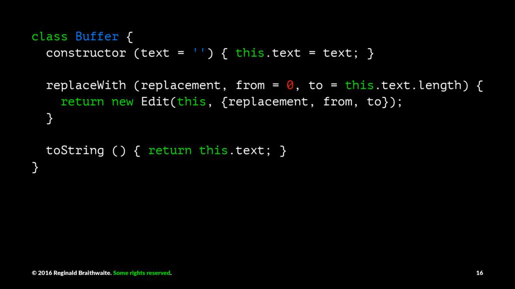 class Buffer { constructor (text = '') { this.t...