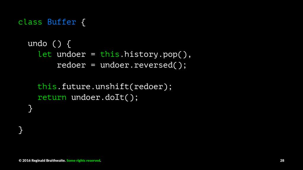 class Buffer { undo () { let undoer = this.hist...