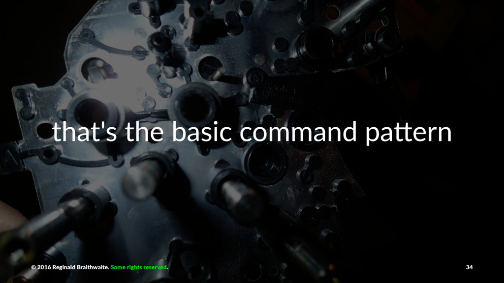 that's the basic command pa0ern © 2016 Reginald...