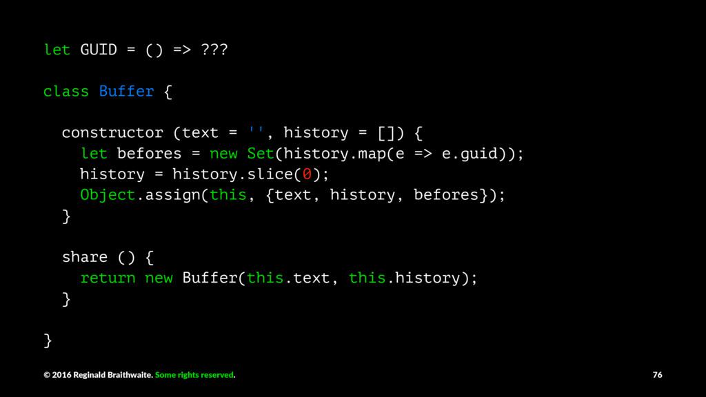 let GUID = () => ??? class Buffer { constructor...