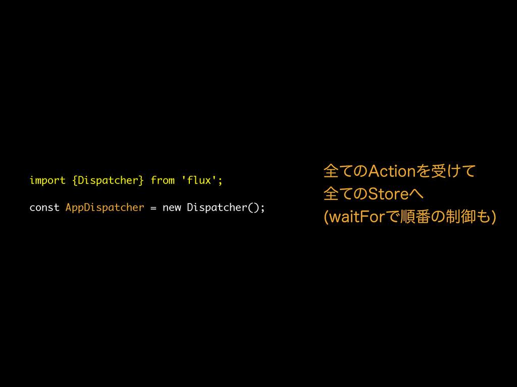 import {Dispatcher} from 'flux'; const AppDispa...