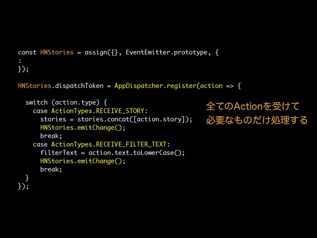 const HNStories = assign({}, EventEmitter.proto...