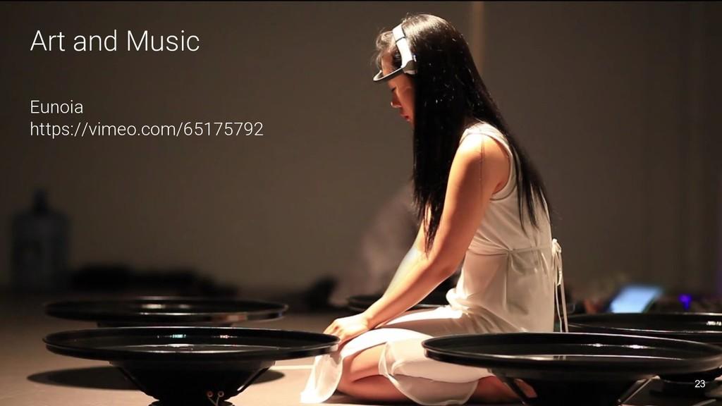 Art and Music Eunoia https://vimeo.com/65175792...