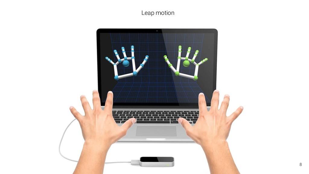 Leap motion 8