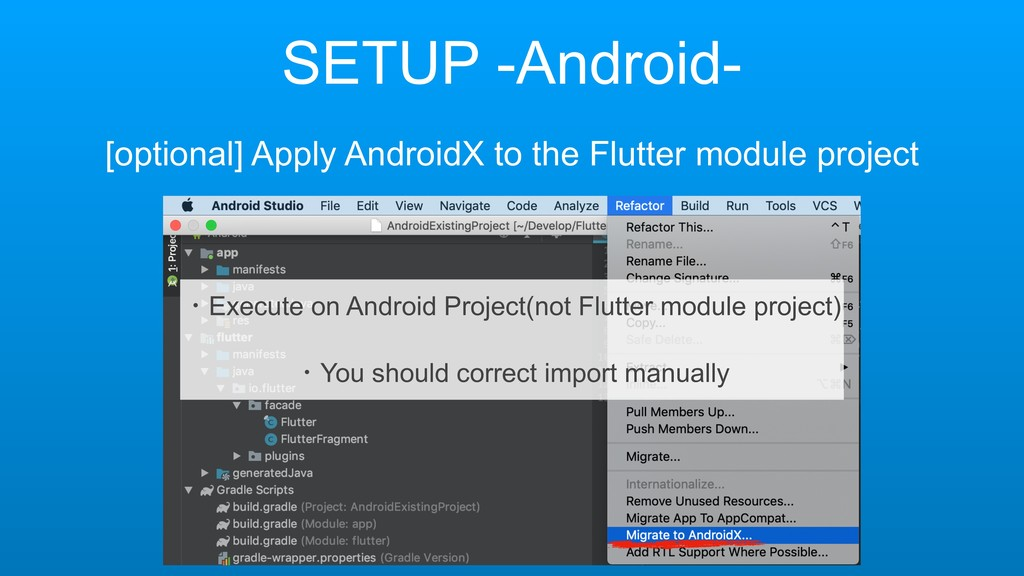SETUP -Android- [optional] Apply AndroidX to th...