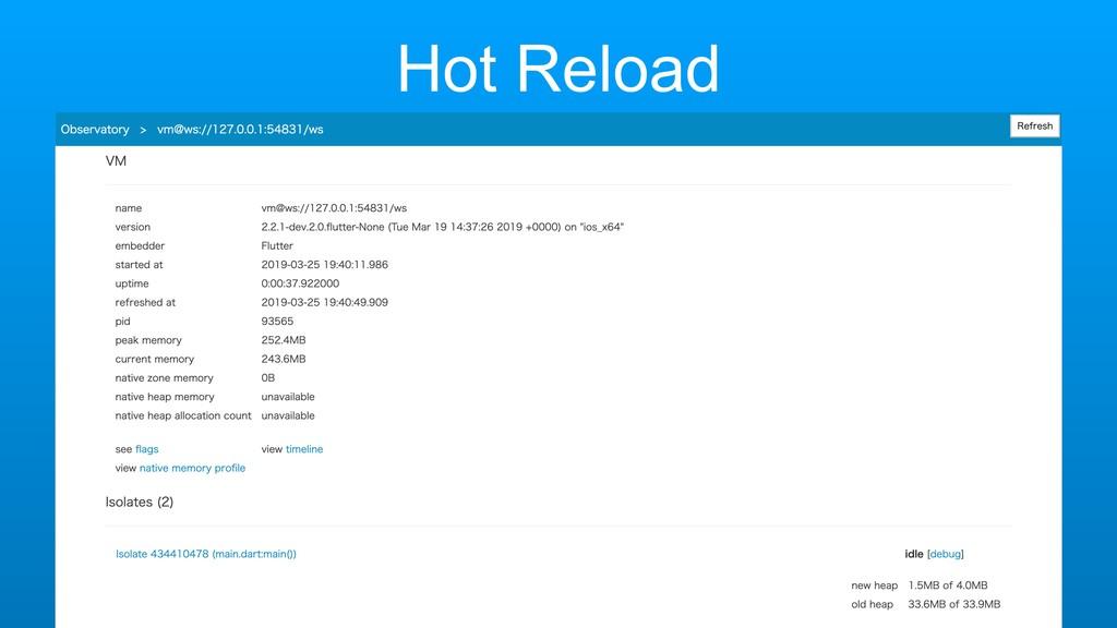 Hot Reload IDE Support Hot Reload for Add2App i...