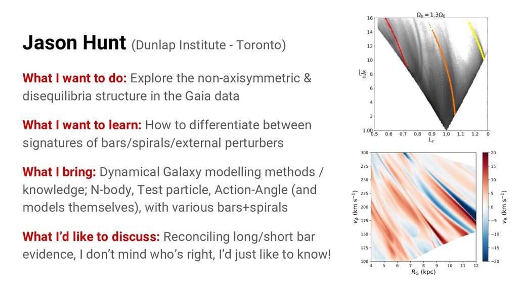 Jason Hunt (Dunlap Institute - Toronto) What I ...