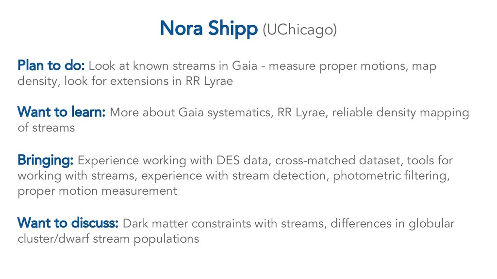 Plan to do: Look at known streams in Gaia - mea...