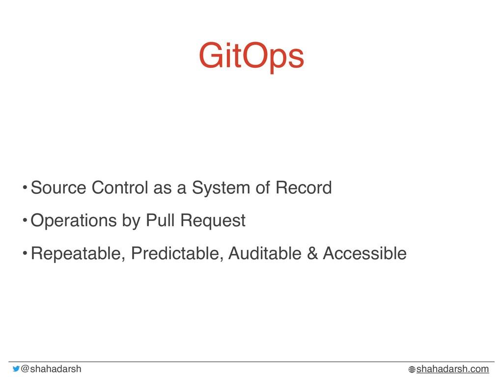 @shahadarsh shahadarsh.com GitOps •Source Contr...