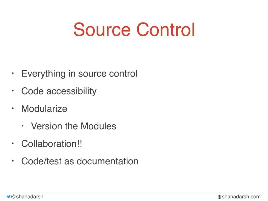 @shahadarsh shahadarsh.com Source Control • Eve...