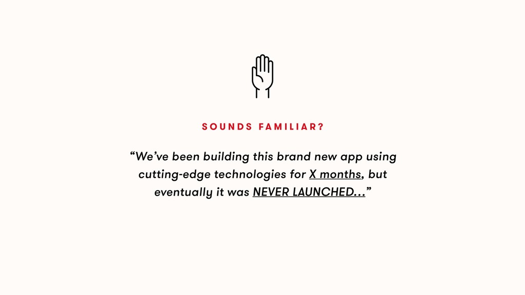 """""""We've been building this brand new app using c..."""