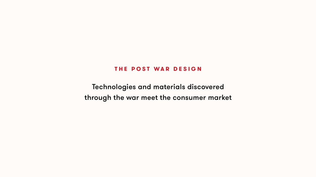 Technologies and materials discovered through t...