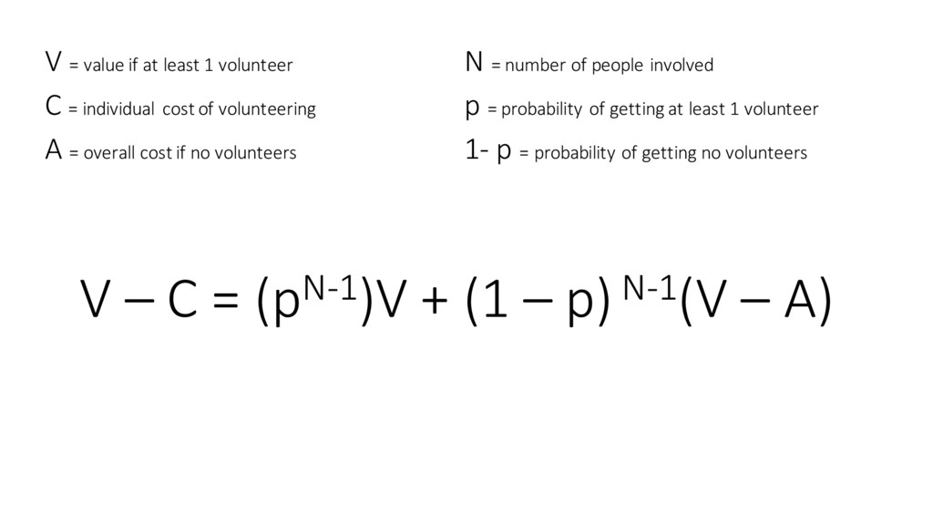 V = value if at least 1 vo...