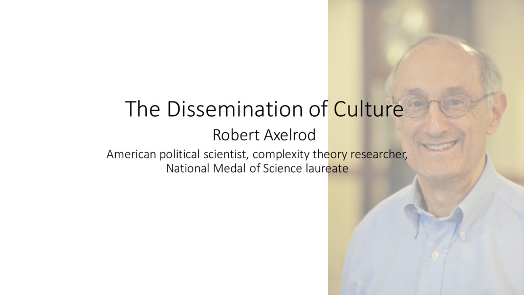 The Dissemination of Culture American...