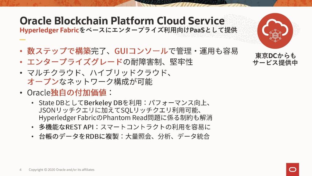 Oracle Blockchain Platform Cloud Service Hyperl...
