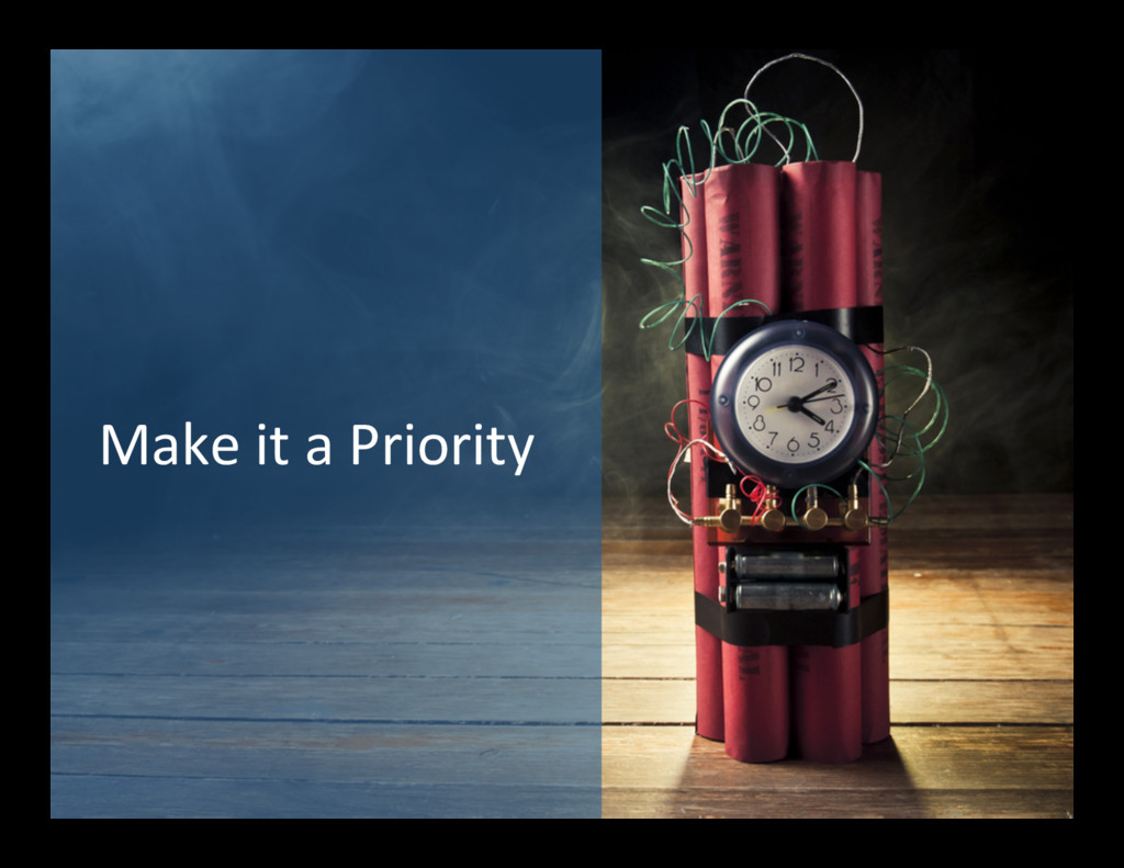 Make it a Priority