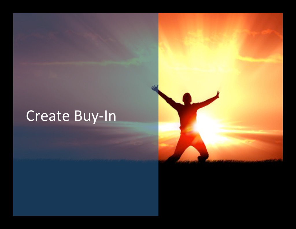 Create Buy-‐In
