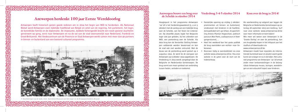 Antwerpen herdenkt 100 jaar Eerste Wereldoorlog...
