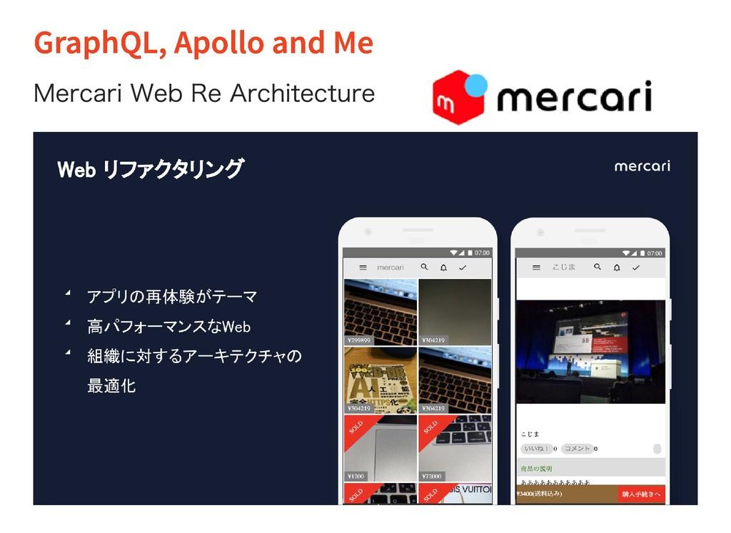 GraphQL, Apollo and Me GraphQL, Apollo and Me M...