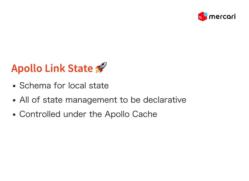 Apollo Link State Apollo Link State Schema for ...