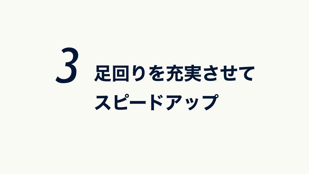 ճΓΛॆ࣮ͤͯ͞ εϐʔυΞοϓ 3