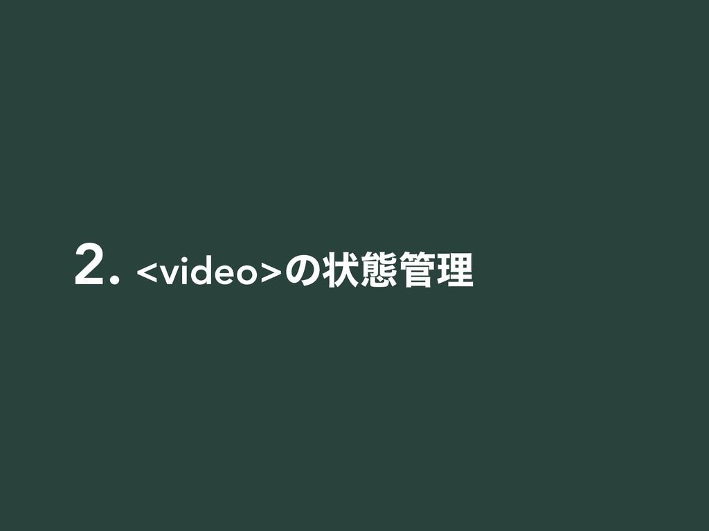 2. <video>ͷঢ়ଶཧ