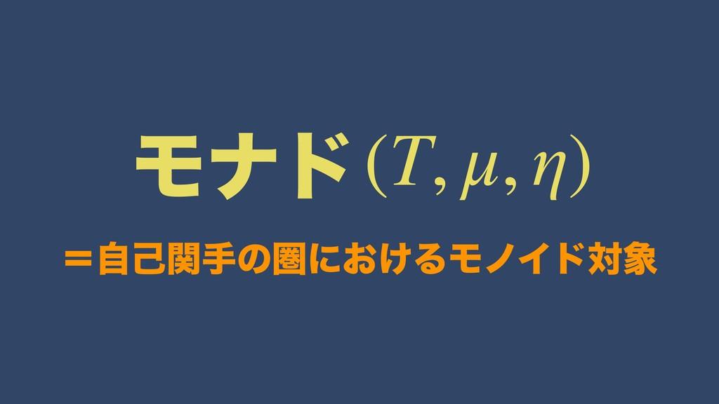 ʹࣗݾؔखͷݍʹ͓͚ΔϞϊΠυର (T, μ, η) Ϟφυ
