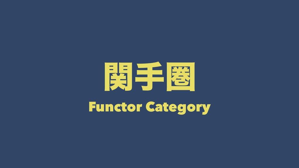 ؔखݍ Functor Category