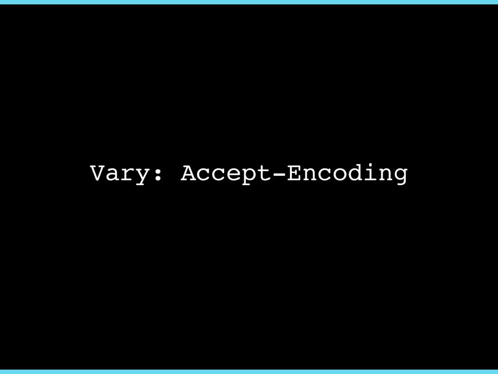 Vary: Accept-Encoding