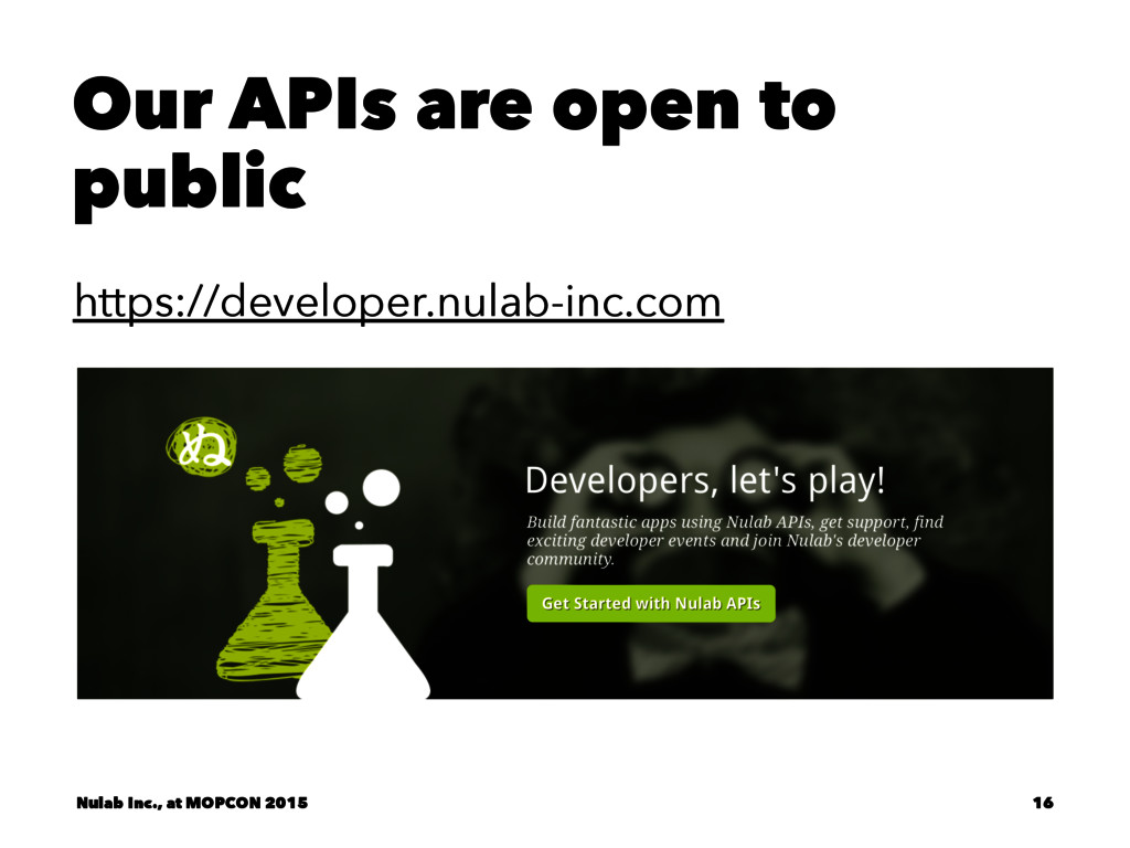 Our APIs are open to public https://developer.n...