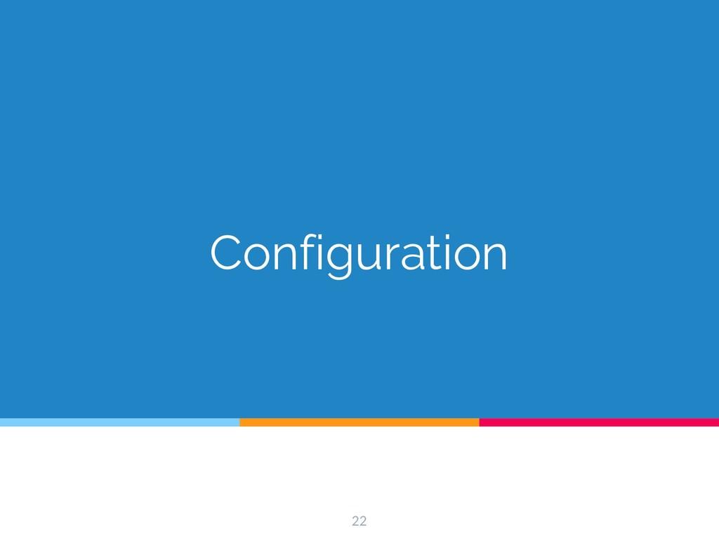 Configuration 22