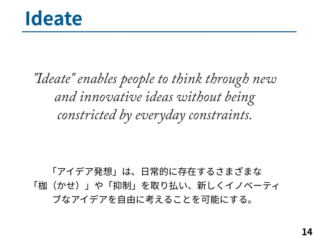 """*EFBUF   """"Ideate"""" enables people to think th..."""