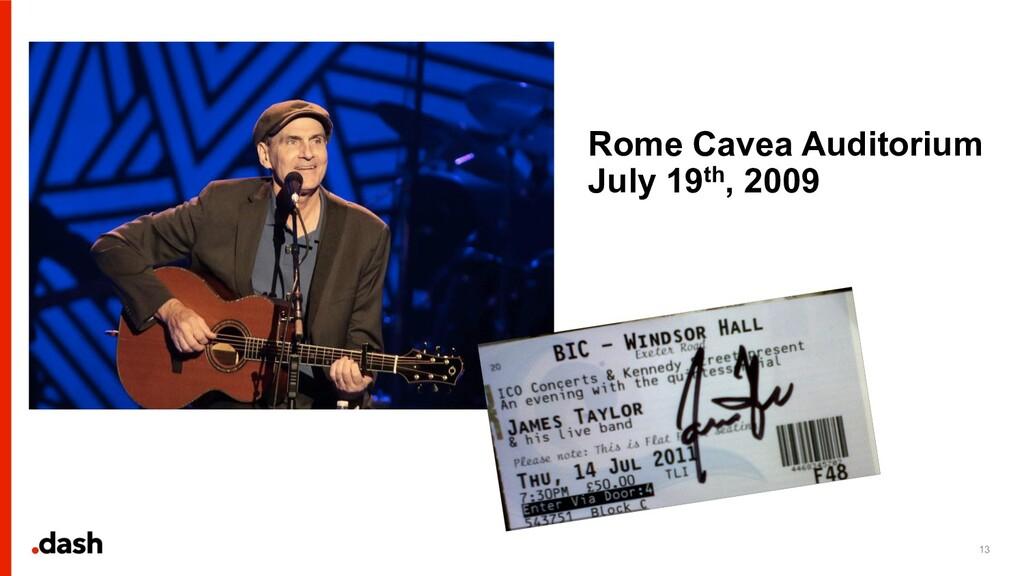 13 Rome Cavea Auditorium July 19th, 2009