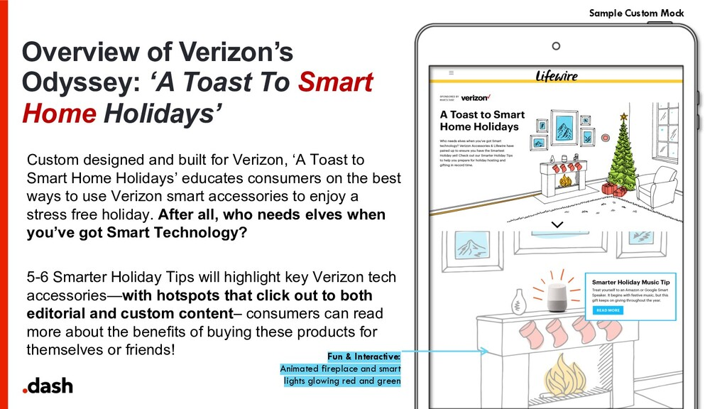 Overview of Verizon's Odyssey: 'A Toast To Smar...