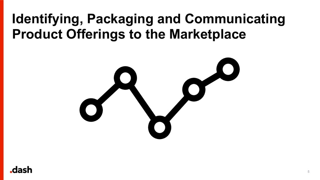 Identifying, Packaging and Communicating Produc...