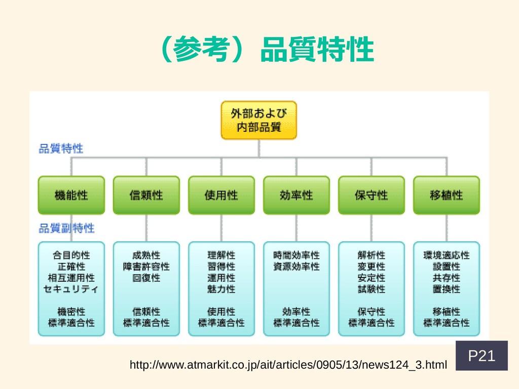 (参考)品質特性 http://www.atmarkit.co.jp/ait/articles...