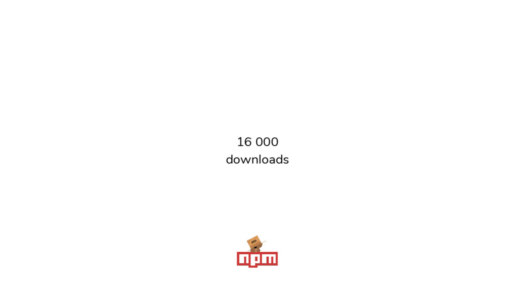 16 000 downloads