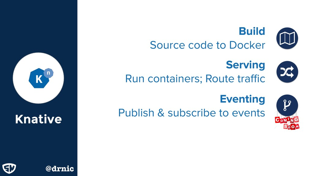 Knative @drnic Build Source code to Docker ɑ S...